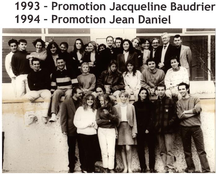 Promotion 1993 - Jacqueline Baudrier