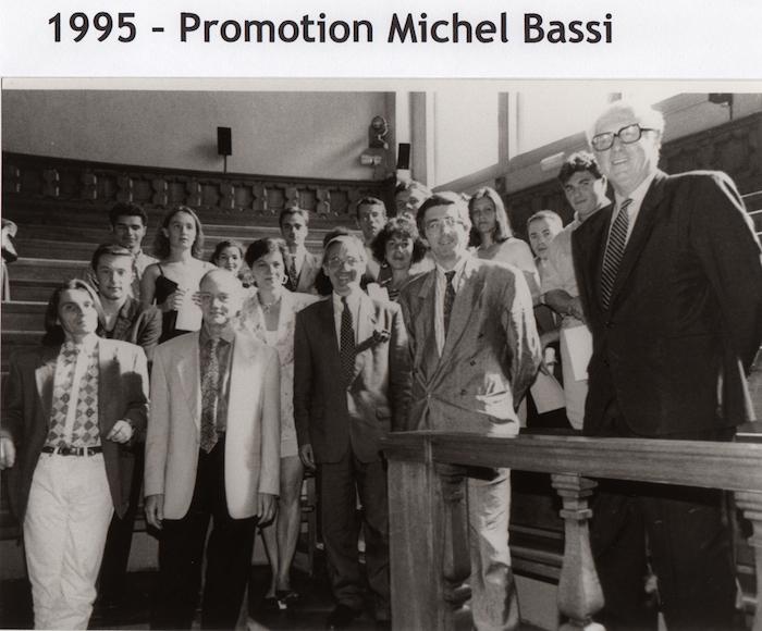 Promotion 1995 - Michel Bassi