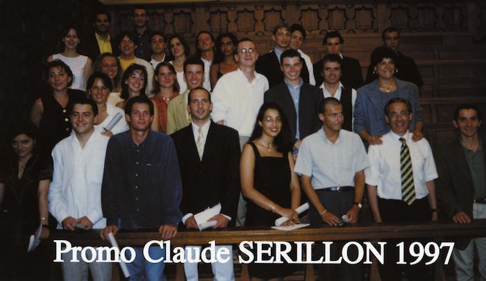 Promotion 1997 - Claude Serillon