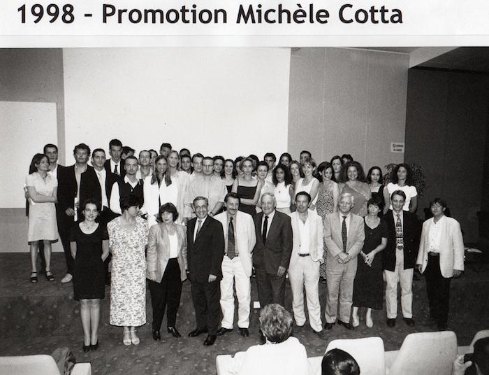 Promotion 1998 - Michèle Cotta