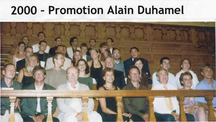 Promotion 2000 - Alain Duhamel