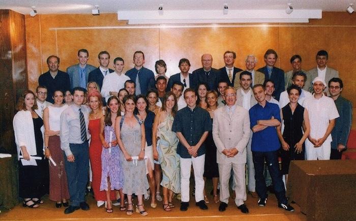 Promotion 2001 - Franz Olivier Giesberg