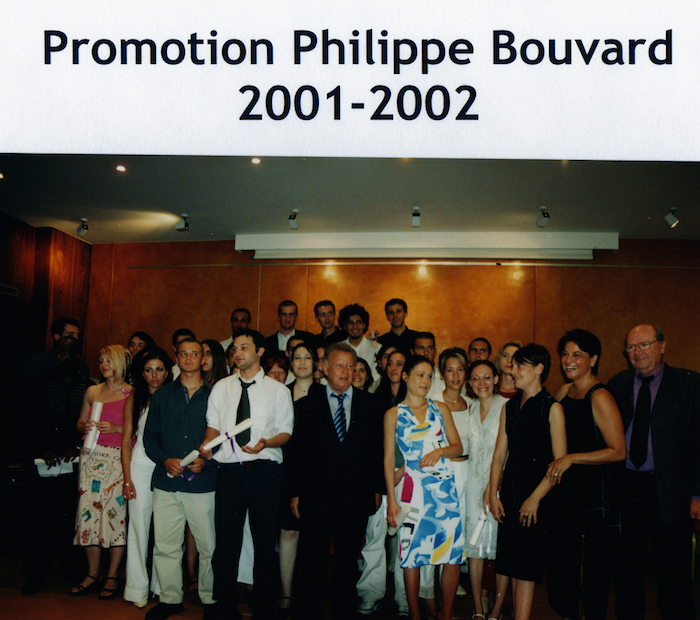 Promotion 2002 - Philippe Bouvard