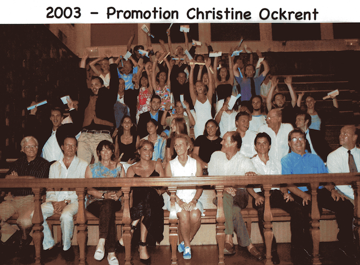 Promotion 2003 - Chritine Ockrent