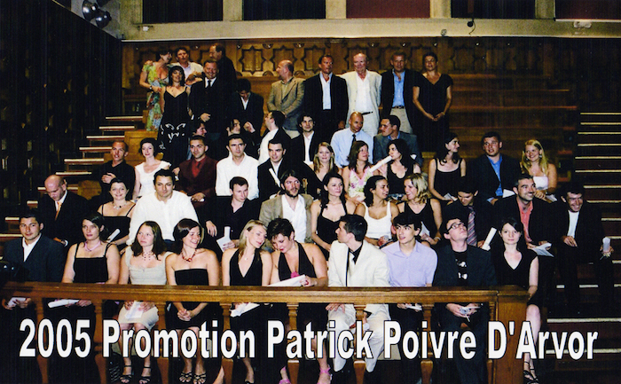 Promotion 2005 - Patrick Poivre d'Arvor