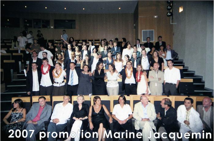 Promotion 2007 - Marine Jacquemin