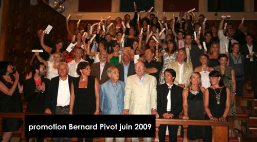 Promotion 2009 - Bernard Pivot