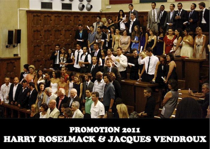 Promotions 2011 - Harry Roselmack et Jacques Vendroux