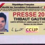 THIBAUT GAUTHIER, PROMO 2016