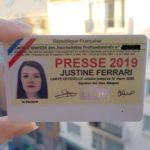 JUSTINE FERRARI, PROMO 2018